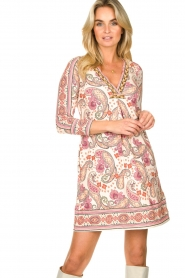 Hale Bob |  Micro fibre paisly dress Moulay | natural  | Picture 2