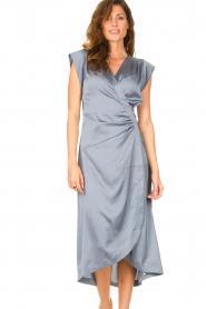 Dante 6    Sleeveless midi dress Rouet   blue    Picture 2