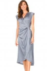 Dante 6    Sleeveless midi dress Rouet   blue    Picture 4