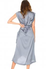 Dante 6    Sleeveless midi dress Rouet   blue    Picture 7