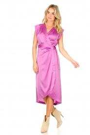 Dante 6 |  Sleeveless midi dress Rouet | purple  | Picture 3