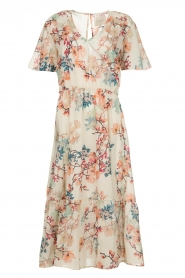 Lolly's Laundry |  Floral maxi dress Filuca | nude  | Picture 1
