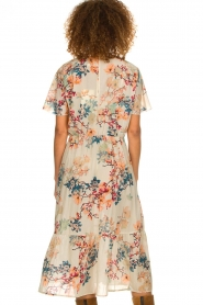 Lolly's Laundry |  Floral maxi dress Filuca | nude  | Picture 6
