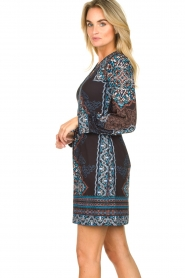 Hale Bob |  Printed dress Zemarra | black  | Picture 4
