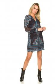 Hale Bob |  Printed dress Zemarra | black  | Picture 3
