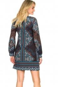 Hale Bob |  Printed dress Zemarra | black  | Picture 6