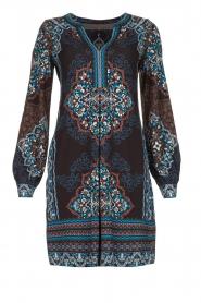 Hale Bob |  Printed dress Zemarra | black  | Picture 1