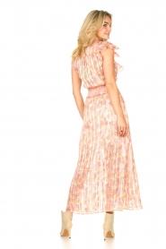 Dante 6 |  Ruffle maxi dress Luscious | pink  | Picture 6