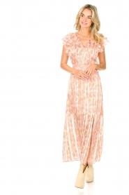 Dante 6 |  Ruffle maxi dress Luscious | pink  | Picture 2