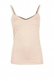 Rosemunde |  Strap Top | sand  | Picture 1