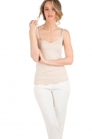 Rosemunde |  Strap Top | sand  | Picture 2