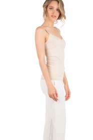 Rosemunde |  Strap Top | sand  | Picture 3