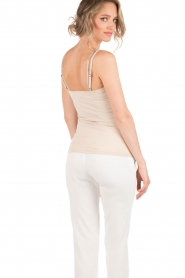 Rosemunde |  Strap Top | sand  | Picture 4