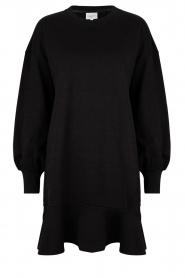Dante 6 | Sweater jurk Josefine | zwart  | Afbeelding 1