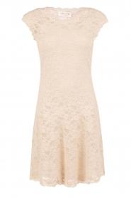Rosemunde | Kanten jurk Paris | zand   | Afbeelding 1