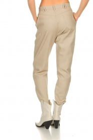 IRO |  Baggy pants Ekos | beige  | Picture 6