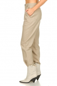 IRO |  Baggy pants Ekos | beige  | Picture 5