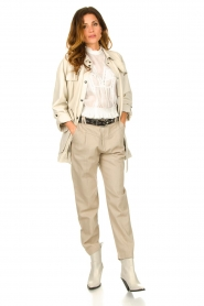 IRO |  Baggy pants Ekos | beige  | Picture 2
