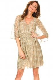 Dante 6 |  Ruffle dress with lurex Cadya | metallic  | Picture 4
