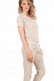 Lace top Paris | sand