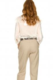 IRO |  Ruffle blouse Hysteria | white  | Picture 6