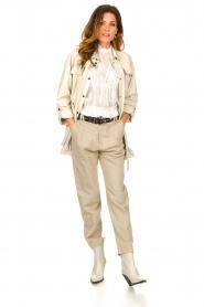 IRO    Ruffle blouse Hysteria   white    Picture 3