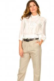 IRO    Ruffle blouse Hysteria   white    Picture 8