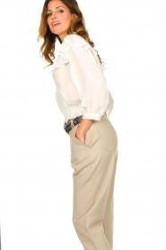 IRO    Ruffle blouse Hysteria   white    Picture 5