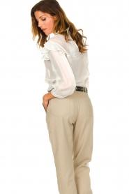 IRO    Ruffle blouse Hysteria   white    Picture 6