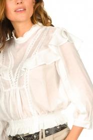 IRO    Ruffle blouse Hysteria   white    Picture 7