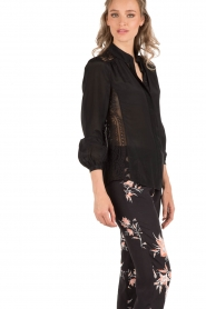 Blouse Rose | black