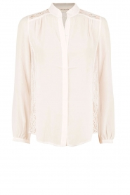 Blouse Rose | wit