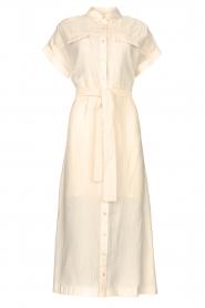 Dante 6 |  Midi button through dress Romy | natural  | Picture 1
