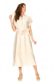 Dante 6 |  Midi button through dress Romy | natural  | Picture 2
