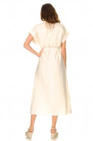 Dante 6 |  Midi button through dress Romy | natural  | Picture 5
