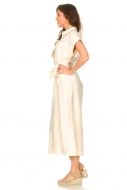 Dante 6 |  Midi button through dress Romy | natural  | Picture 4