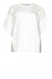 IRO |  Top with see-through details Jadys | white  | Picture 1