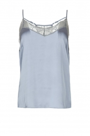 Dante 6 |  Cami top with lace details Moanna | blue  | Picture 1
