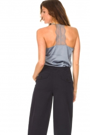 Dante 6 |  Cami top with lace details Moanna | blue  | Picture 7