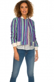 Lolly's Laundry |  Printed jacket Vie | multi  | Picture 2