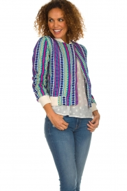 Lolly's Laundry |  Printed jacket Vie | multi  | Picture 4