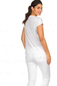Lolly's Laundry |  Printed T-shirt Roma | white  | Picture 5