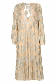 IRO |  Dress with lurex florals Katte | nude  | Picture 1