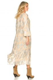 IRO |  Dress with lurex florals Katte | nude  | Picture 5