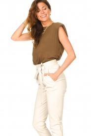 Dante 6 |  Basic top with open back Danthon | green  | Picture 6