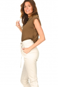Dante 6 |  Basic top with open back Danthon | green  | Picture 5