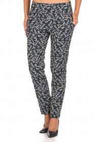 Atos Lombardini |  Trousers Gianna | blue  | Picture 2