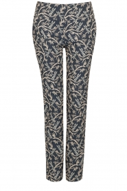 Atos Lombardini |  Trousers Gianna | blue  | Picture 1