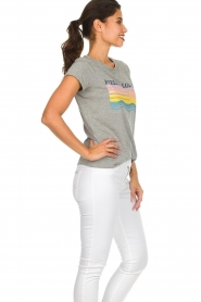 Lolly's Laundry |  Printed T-shirt Roma | grey  | Picture 4