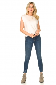Dante 6 |  Basic top with open back Danthon | white  | Picture 3